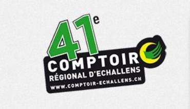 Comptoir d'Echallens – 6 au 10 novembre 2019