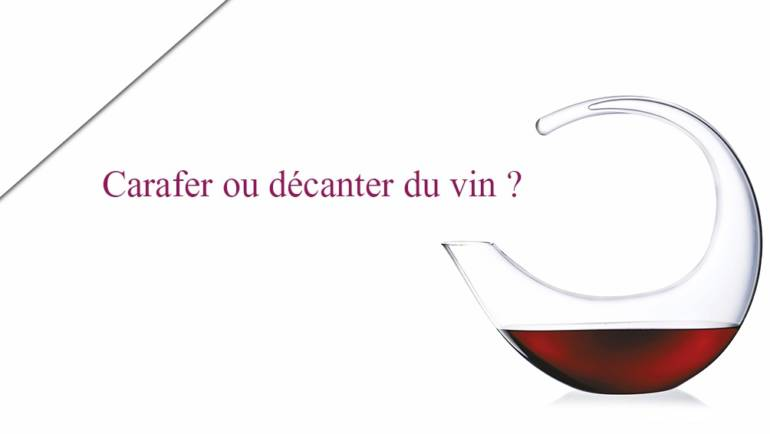 CARAFER vs DECANTER